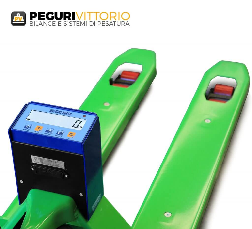 Peguri Vittorio transpallet con Bilancia Integrata